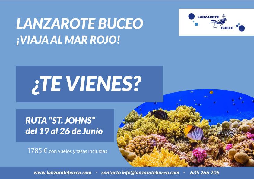Lanzarote Buceo – Viaja al Mar Rojo